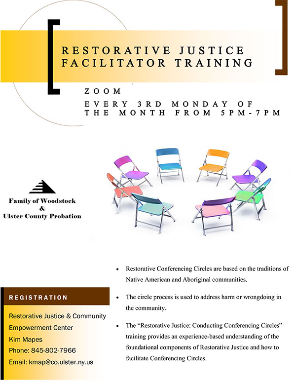 Restorative Justice Facilitator Training