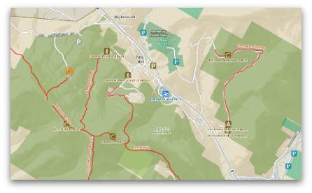 Ulster County Recreation Map
