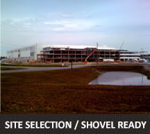 Site Selection/Shovel Ready